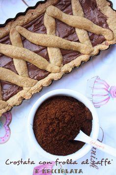 """La merenda oggi è offerta da """"Coccole alla Panna""""! Crostata al caffè con #Nocciolata, una vera delizia! :-)"""