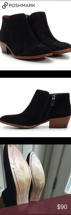 Sam Edelman petty ankle booties super versatile. staple closet piece. comfortable. Seasonless. worn twice. Excellent condition. purchased from Nordstrom. Sam Edelman Shoes Ankle Boots & Booties