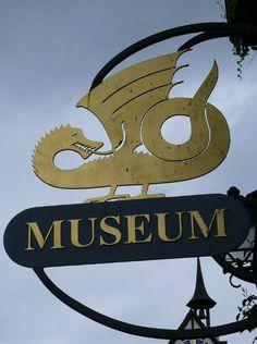 museum sign in Stein am Rhein, Switzerland