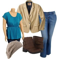 Plus size style: Business casual is cool again. By Tracey Sims.