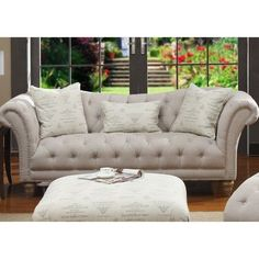 Emerald Home Hutton Fabric Sofa Price seemed GREAT on this one