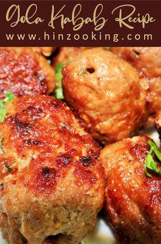 Gola Kabab - Gola Kabab Recipe in Urdu Hindi English Biryani Recipe, Masala Recipe, Cake Recipes Without Oven, Grilling Recipes, Cooking Recipes, Breakfast Recipes, Snack Recipes, Indian Food Recipes