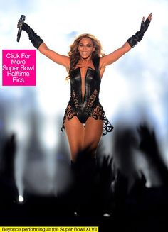 #Beyonce looked fly at 2013 #superbowl in #leather & #lace!