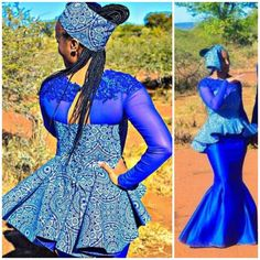 Tswana Traditional Dresses For Wedding Day 2018 .When we anticipate of a bells gown, conceivably one of the blazon of dress that aboriginal appear Zulu Traditional Attire, Traditional Dresses, White Wedding Gowns, Wedding Day, African Fashion Dresses, Nigerian Fashion, African Wear, African Style, Weeding Dress