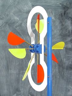 Chuck Dunbar's  Whirligig Design and Development Whirligig #46   Complete Plans                             See it move.    ____________...