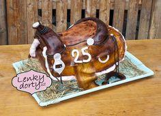 3D cake western saddle