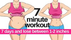 7 Day Challenge – 7 Minute Workout To Lose Belly Fat – Home Workout To Lose Inches Fat Burning Cardio Workout, Cardio Workout At Home, Belly Fat Workout, At Home Workouts, 7 Min Workout, Lose Belly Fat Exercise, Workout For Fat Loss, Exercises For Belly Fat, Exercise Cardio