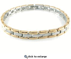Magnetic Anklet Stainless Steel Style #35