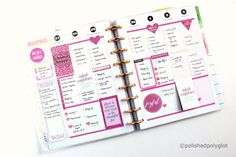 """Why planning? In this post I tell you my motivation for planning and how """"Happy Panning"""" became my new hobbie. Pink Planner, Happy Planner, Planner Brands, Types Of Planners, Organize Your Life, Studyblr, New Hobbies, Sticky Notes, Losing Me"""