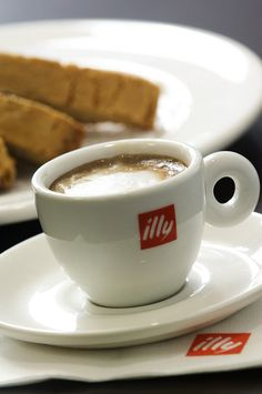 illy coffee,no meal is complete without one