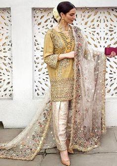 Wedding Salwar and Kameez wedding dresses shalwar kameez Pakistani Fashion Party Wear, Pakistani Wedding Outfits, Pakistani Couture, Pakistani Wedding Dresses, Nikkah Dress, Dress Wedding, Shadi Dresses, Pakistani Formal Dresses, Pakistani Dress Design