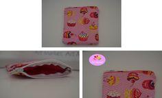 --- Necessaire dos Cupcakes ---   Simplesmente adorável! :)