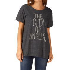 Element City Of Angels T-Shirt - Black | Free UK Delivery