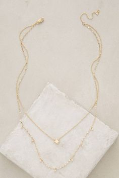 Poemas Layer Necklace - anthropologie.com