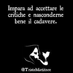 Critiche.