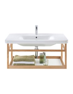 Duravit DuraStyle 650mm Furniture Basin With Wall Mounted Shelf