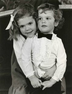 Victoria & Carl Philip of Sweden