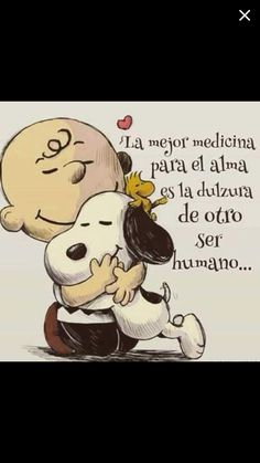 Snoopy ❤ Charlie Brown and Woodstock ❤ Más Snoopy Frases, Snoopy Quotes, Snoopy Love, Snoopy And Woodstock, Charlie Brown And Snoopy, Peanuts Snoopy, Peanuts Movie, Spanish Quotes, Spanish Memes