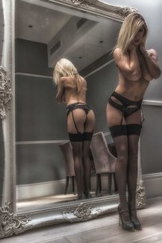 """deniersixnine: """" stockingssexy: """" http://stockingssexy.tumblr.com/archive """" ~~ Like, are my seams, like STRAIGHT ?? """" """""""