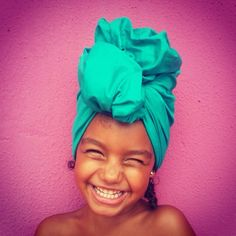 """""""Let my soul smile through my heart and my heart smile through my eyes, that I may scatter rich smiles in sad hearts."""" - Paramahansa Yogananda  Photo submission: Miss Turbanista Paris, Rafaela from Rio de Janeiro Brazil"""