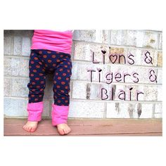 Handmade Lillestoff Pretzel Fart Sacks - Size 3M to 3T - Toddler Legging/Baby Legging/Grow With Me Pants/Cloth Diaper Pants/Toddler Pants/ on Etsy, $22.00