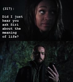 the TV show Sleepy Hollow.