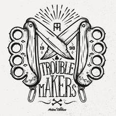 Trouble Makers by Piotr Jakubowski, via Behance