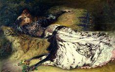 "Georges Clairin - ""Sara Bernardt"", 1866"