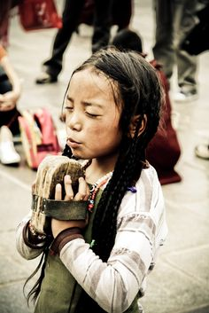 Praying for a better life in Tibet