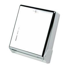 "San Jamar T1905XC 11-5/8"" Width x 14-1/2"" Height x 5"" Depth, Chrome Finish TrueFold C-Fold/Multifold Towel Dispenser by San Jamar. $29.99. Large capacity for reduced maintenance"