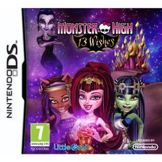 Monster High 13 Wishes DS Game