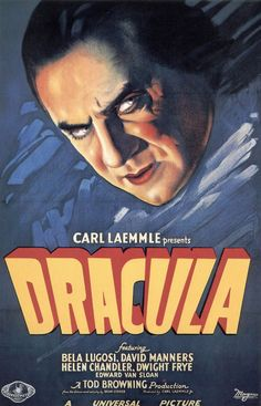 Dracula -these old movies were much scarier than some of the remaikes, probably because the actors were so good.