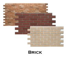 4x8ft faux brick panels perfect for interior or exterior. easy DIY installation. get the city loft look fauxstonepanels.com
