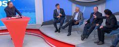 """Casagrande e Gilmar Rinaldi discutem, e Dunga pede """"democracia"""" #sportv"""
