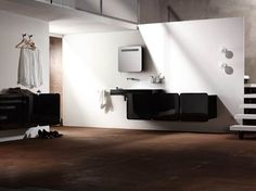 Wall Mounted Sinks and Cabinets From Sonia