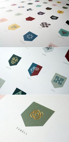 A Song of Fire and Ice House Rebrand | Darrin Crescenzi