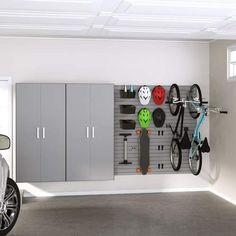 Flow Wall Jumbo Locker and Bike Storage Cabinet Set Flow Wall Bike Storage Cabinet, Large Storage Cabinets, Storage Shed Organization, Garage Storage Solutions, Door Storage, Storage Rack, Locker Storage, Organisation Ideas, Hanging Storage