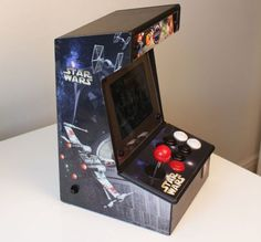 Intructables user jackandwho has created an awesome Raspberry Pi Bartop Arcade and kindly published everything you need to know over on the Instructables