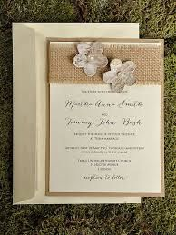 ABIGAIL Lace & Burlap Wedding Invitation by peachykeenevents | Baby ...