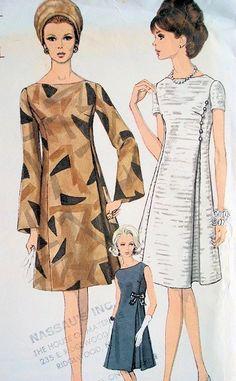 Vestidos dos anos 60. DC