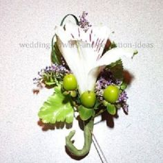 Make a Boutonniere; Easy step by step instructions.  Find professional florist bout supplies and 100's of photo ideas for inspiration on creating your boutonniere