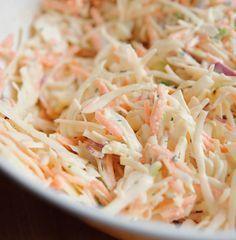 Salada crocante de repolho e cenoura Mais