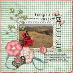 Be You using You are Beautiful by Kathryn Estry