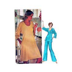 Vintage 70s Misses Sewing Pattern Vogue Americana by retromonkeys, $15.00