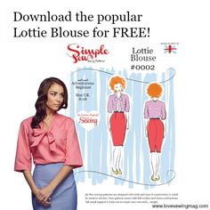 Free Lottie Sewing Pattern Download. From English magazine - although it says download is only free for a week in Feb I was able to download it as of April 2015