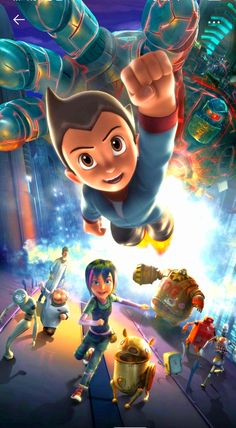Astro Boy, a robot with incredible powers who is disowned by his creator, goes on a journey of identity and self-acceptance to become the greatest hero of all. Cartoon Cartoon, Astro Boy, Self Acceptance, Robot, Identity, The Creator, Journey, Hero, The Incredibles