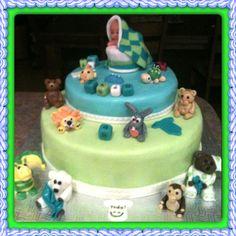 gâteau de baptême boy