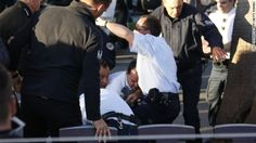 """Cannes Chaos: Man fires blanks. A man was arrested Friday at the Cannes Film Festival after firing a gun loaded with blanks during a live television interview, sending an Oscar-winning actor running for cover. Canal+ was interviewing Christoph Waltz, who won the Academy Award for best supporting actor in """"Django Unchained,"""" and actor Daniel Auteuil when a man fired two shots from a starter pistol, according to authorities and the French television station."""
