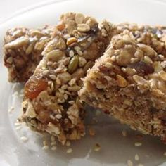 """Rice Cereal Energy Bars 