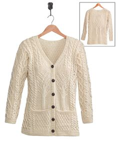 Fall Apparel Sale - Tree of Life Cardigan Classy Style, Style Me, Irish Clothing, Celtic Tree Of Life, Professional Women, Knit Fashion, Fall Collections, Clearance Sale, Winter Wardrobe